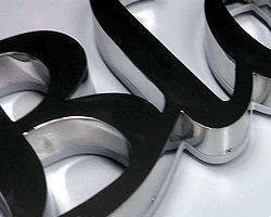 litery ze stali nierdzewnej 316 litery podświetlane efekt edge led